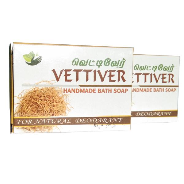 VETTIVER SOAP-100gm